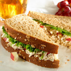 Tuna Waldorf Salad Sandwiches