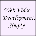 Web Video Development: Simply icon