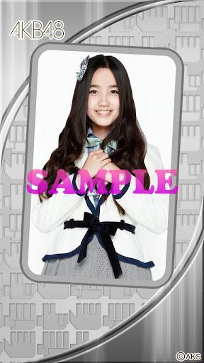 AKB48きせかえ 公式 加藤玲奈ライブ壁紙-3J-
