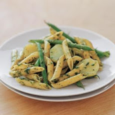 Penne with Pesto, Potatoes & Green Beans