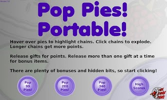 Screenshot of Pop Pies!