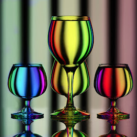 Extravaganza of colors.. by Rakesh Syal - Artistic Objects Glass (  )