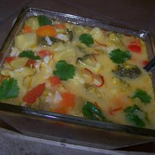 Thai Vegetable and Rice Soup
