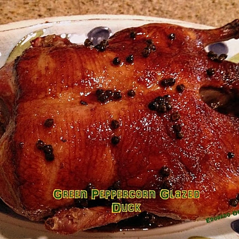 Green Peppercorn Glazed Duck