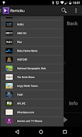Screenshot of Romoku - Remote for Roku