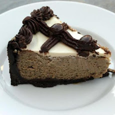Cappuccino-Fudge Cheesecake