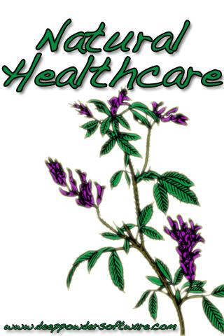 Natural Healthcare Terms