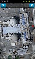Screenshot of Nuclear Site Locator