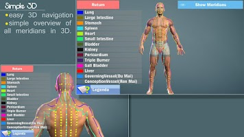 Screenshot of Easy Acupuncture 3D -FULL