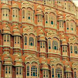 Hawa Mahal by Saranya Sankar Roy - Buildings & Architecture Public & Historical