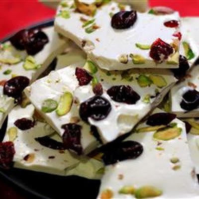 Cherry-Pistachio Bark