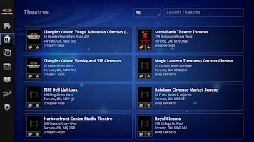 Screenshot of Cineplex - Google TV