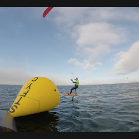 hydrofoiling by Mendel Rice - Sports & Fitness Watersports
