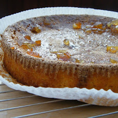 Almost Flourless Orange Cake with Marmalade