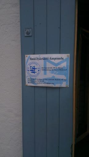 Mandal Dykkeklubb Kompressorbu