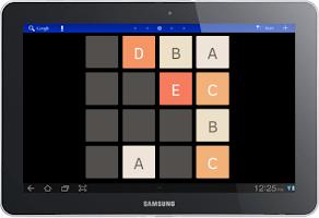 Screenshot of 2048 Alphabet