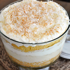 Coconut Tres Leches Cake Trifle