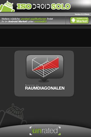IsoDroid Solo Raumdiagonalen