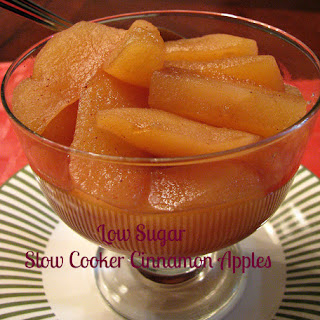 Low Sugar Slow Cooker Cinnamon Apples