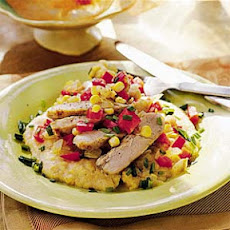 Chicken with Polenta