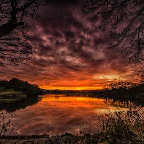A Glorious Sunrise by Graham Kidd - Landscapes Sunsets & Sunrises (  )