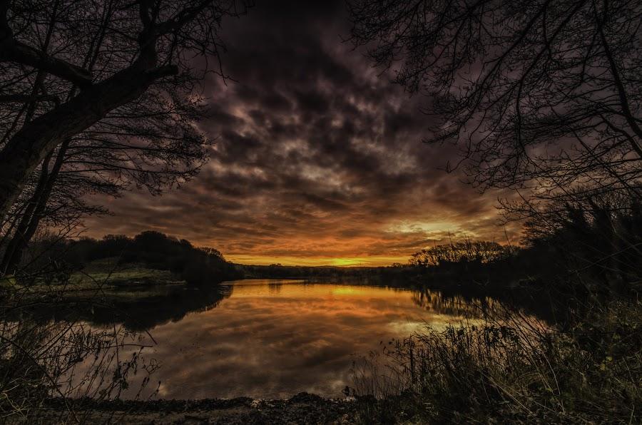 A Glorious Sunrise by Graham Kidd - Landscapes Sunsets & Sunrises (  )