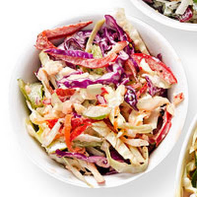 Pepper & Apple Coleslaw