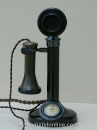 Candlestick Phones - British, Plessey Co Dial Blank $300 1