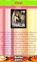 Screenshot of Thalia Fans
