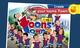 Screenshot of FCB ToonsTown HD