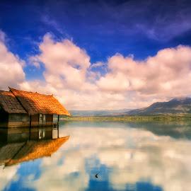 Tenggelam by Bayu Adnyana - Landscapes Travel ( bali, kintamani, batur, lake, landscapes )