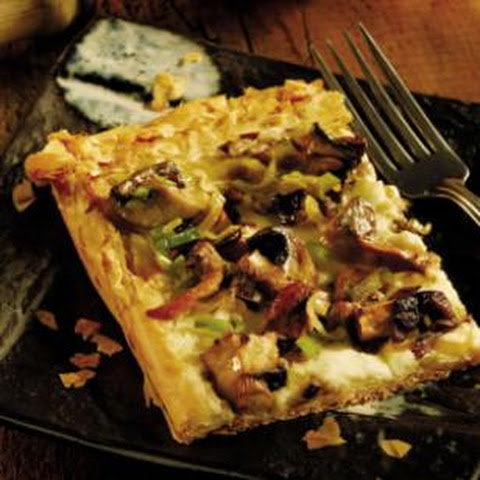 Mushroom and White Bean Tart Recept | Yummly