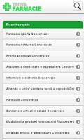 Screenshot of Trova Farmacie