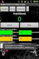 Screenshot of Robocoach Voice Box