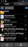Screenshot of Hide All Files