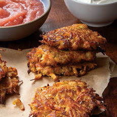 Sweet Potato Apple Latkes Recipe