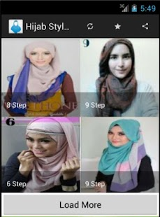 Hijab Styles Step By Step - screenshot