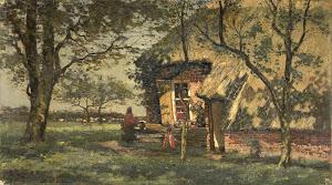 RIJKS: Willem van Schaik: painting 1938
