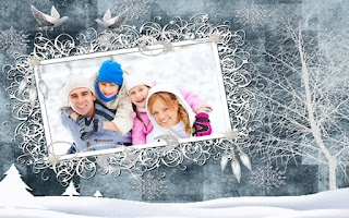 Screenshot of Winter Photo Frames