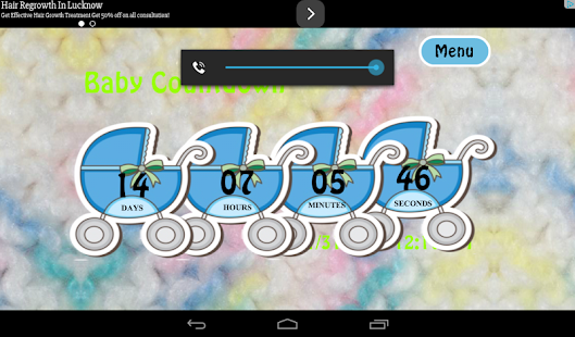 Baby Countdown Free- screenshot