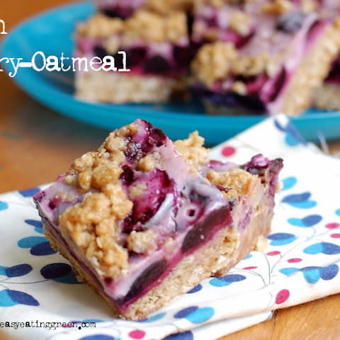 Oatmeal Cherry Bars