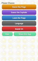 Screenshot of Guess Something:Flag & Capital