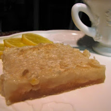 Lemon Custard Bars