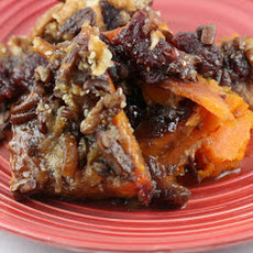 Pecan Topped Baked Sweet Potatoes CrockPot