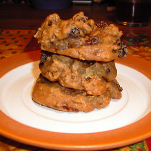 Oatmeal Cookies with Rum-soaked Raisins
