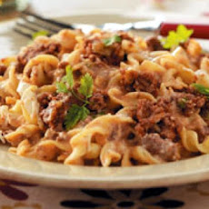 Beef Noodle Casserole (Low Fat)