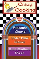 Screenshot of Crazy Cooking Free