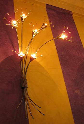 wall lamp at Bizu Patisserie
