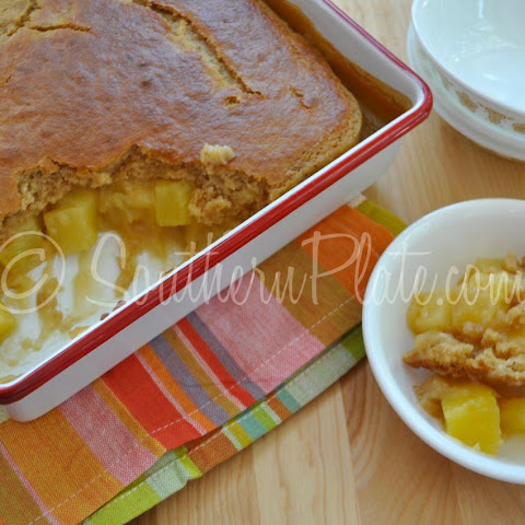 Pineapple Cobbler