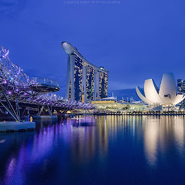 Marina Bay Singapore by Choppatony Tam - Buildings & Architecture Office Buildings & Hotels